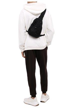 Мужская текстильная поясная сумка C.P. COMPANY черного цвета, арт. 09CMAC155A-005269G | Фото 2