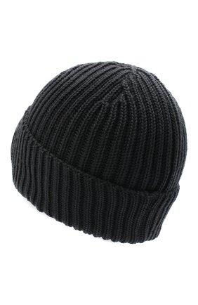 Мужская шерстяная шапка C.P. COMPANY серого цвета, арт. 09CMAC239A-005509A | Фото 2