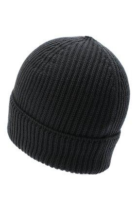 Мужская шерстяная шапка C.P. COMPANY серого цвета, арт. 09CMAC241A-005509A | Фото 2