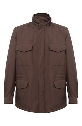 Мужская куртка traveller LORO PIANA коричневого цвета, арт. FAI1437 | Фото 1