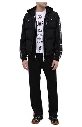 Мужская толстовка DSQUARED2 черного цвета, арт. S74HG0103/S23686 | Фото 2