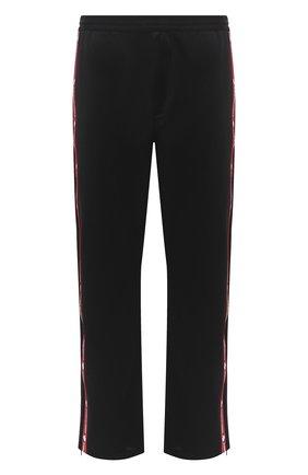 Мужской брюки DSQUARED2 черного цвета, арт. S74KB0476/S23686 | Фото 1