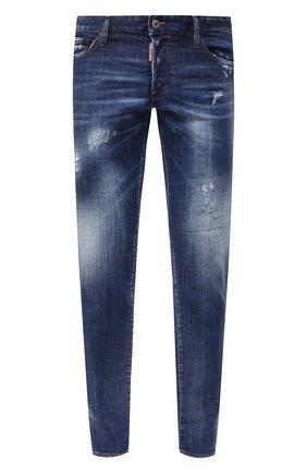 Мужские джинсы DSQUARED2 синего цвета, арт. S74LB0758/S30342 | Фото 1