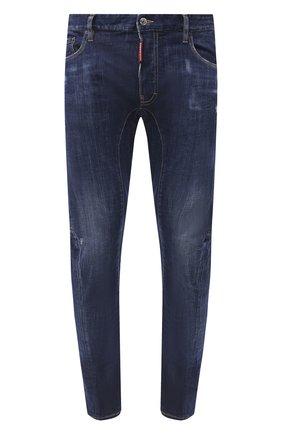 Мужские джинсы DSQUARED2 синего цвета, арт. S74LB0760/S30342 | Фото 1