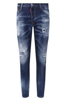 Мужские джинсы DSQUARED2 синего цвета, арт. S74LB0762/S30342 | Фото 1