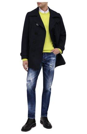 Мужские джинсы DSQUARED2 синего цвета, арт. S74LB0762/S30342 | Фото 2