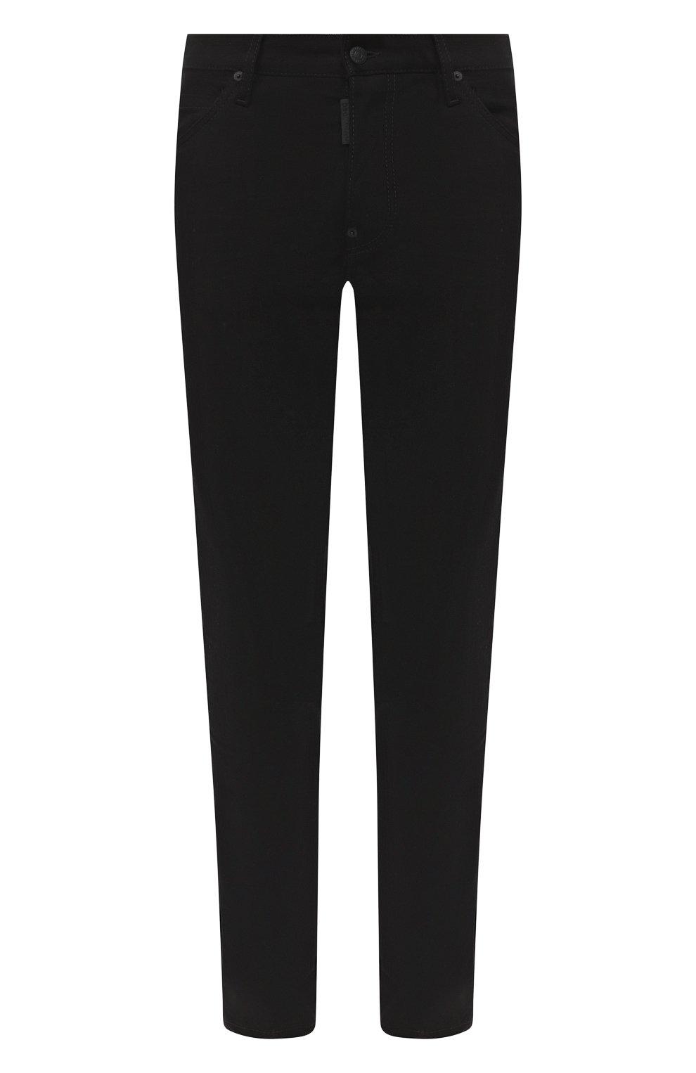 Мужские джинсы DSQUARED2 черного цвета, арт. S74LB0779/S30564   Фото 1
