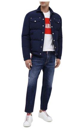 Мужские джинсы DSQUARED2 синего цвета, арт. S74LB0812/S30309 | Фото 2