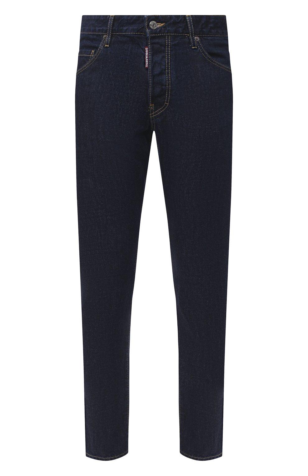 Мужские джинсы DSQUARED2 синего цвета, арт. S74LB0817/S30309 | Фото 1