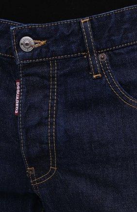 Мужские джинсы DSQUARED2 синего цвета, арт. S74LB0817/S30309 | Фото 5