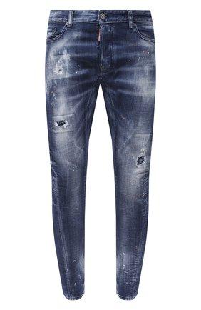 Мужские джинсы DSQUARED2 синего цвета, арт. S74LB0823/S30342 | Фото 1