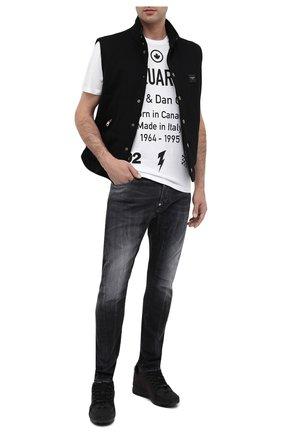 Мужские джинсы DSQUARED2 серого цвета, арт. S74LB0828/S30503 | Фото 2