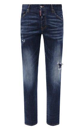 Мужские джинсы DSQUARED2 синего цвета, арт. S79LA0009/S30342 | Фото 1