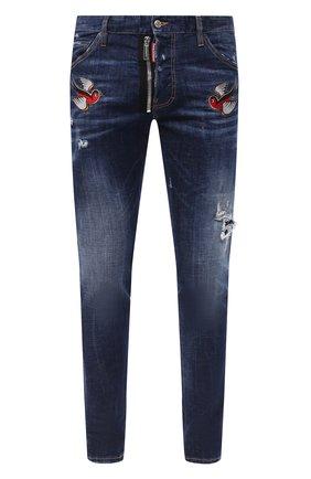 Мужские джинсы DSQUARED2 синего цвета, арт. S79LA0010/S30342 | Фото 1