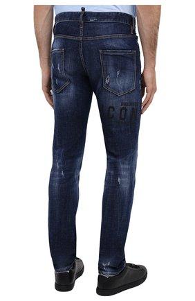 Мужские джинсы DSQUARED2 синего цвета, арт. S79LA0010/S30342   Фото 5