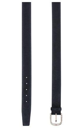 Мужской замшевый ремень BARRETT темно-синего цвета, арт. 92B565.7/REPELL0 0IL | Фото 2