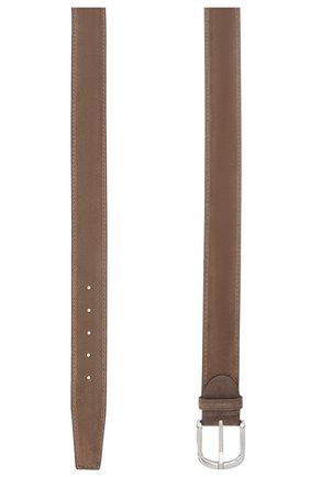 Мужской замшевый ремень BARRETT темно-бежевого цвета, арт. 92B565.24/REPELL0 0IL | Фото 2