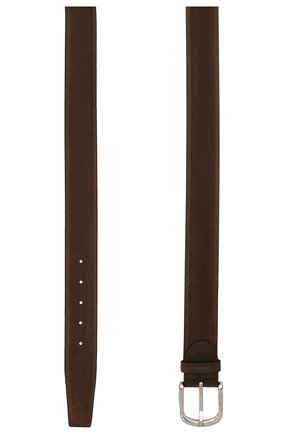 Мужской замшевый ремень BARRETT коричневого цвета, арт. 92B565.1/REPELL0 0IL | Фото 2