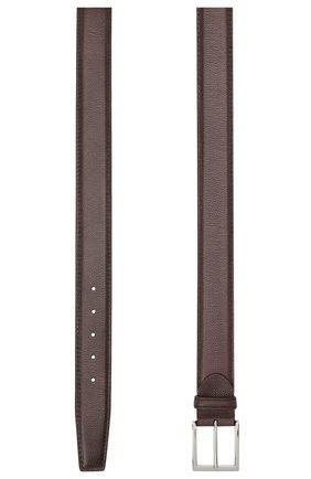 Мужской кожаный ремень BARRETT темно-коричневого цвета, арт. 92B564.18/RIX0N | Фото 2