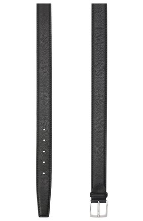 Мужской кожаный ремень BARRETT черного цвета, арт. 81B536.4/CERV0 | Фото 2