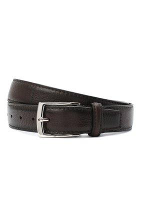Мужской кожаный ремень BARRETT коричневого цвета, арт. 81B536.13/CERV0 ASP0RTABILE | Фото 1