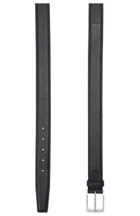 Мужской кожаный ремень BARRETT темно-синего цвета, арт. 81B536.11/CERV0 ASP0RTABILE | Фото 2