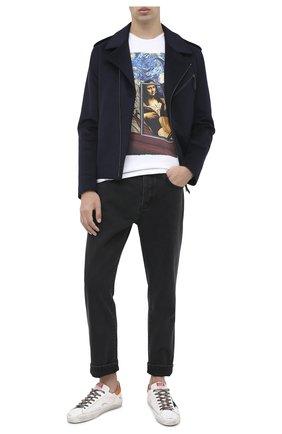 Мужские джинсы KENZO черного цвета, арт. FA65DP2002ED | Фото 2