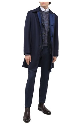 Мужские кожаные челси BARRETT бордового цвета, арт. 192U054.13/C0RSAR0 | Фото 2