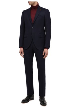 Мужской шерстяной костюм SARTORIA LATORRE темно-синего цвета, арт. A6I7EF U81142 | Фото 1
