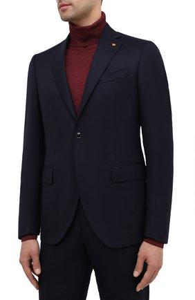 Мужской шерстяной костюм SARTORIA LATORRE темно-синего цвета, арт. A6I7EF U81142 | Фото 2