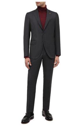 Мужской шерстяной костюм SARTORIA LATORRE темно-серого цвета, арт. A6I7EF Q81284 | Фото 1