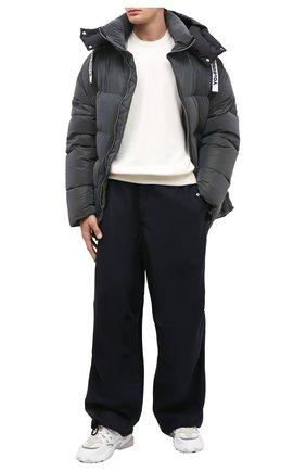 Мужские шерстяные брюки OAMC темно-синего цвета, арт. 0AMR310133 0R201500 | Фото 2