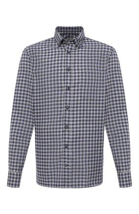 Мужская хлопковая рубашка VAN LAACK темно-синего цвета, арт. R0Y-TF/156500 | Фото 1