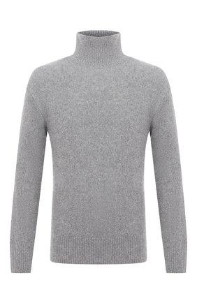 Мужской свитер из шерсти и кашемира KENZO серого цвета, арт. FA65PU5023AE | Фото 1