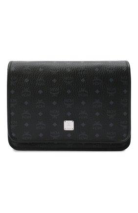 Мужская сумка klassik MCM черного цвета, арт. MMM AAKC02 | Фото 1