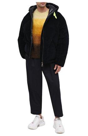 Мужская пуховая куртка KHRISJOY темно-синего цвета, арт. BFPM035/VEL | Фото 2
