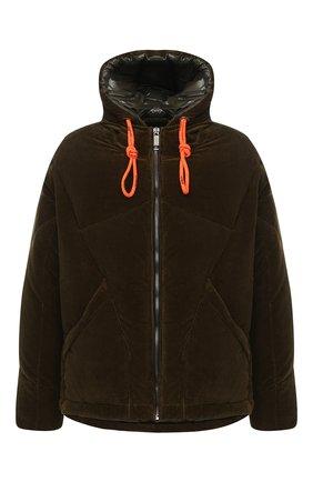 Мужская пуховая куртка KHRISJOY хаки цвета, арт. BFPM035/VEL | Фото 1