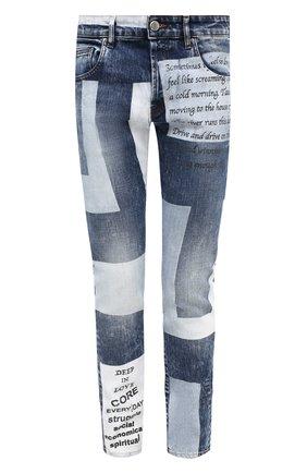 Мужские джинсы DON THE FULLER синего цвета, арт. DHW0/MILAN0/DTF/45 | Фото 1
