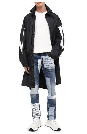 Мужские джинсы DON THE FULLER синего цвета, арт. DHW0/MILAN0/DTF/45 | Фото 2