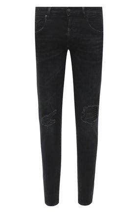 Мужские джинсы DON THE FULLER темно-серого цвета, арт. DHW0/MILAN0/DTF/PAY | Фото 1