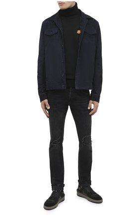 Мужские джинсы DON THE FULLER темно-серого цвета, арт. DHW0/MILAN0/DTF/PAY | Фото 2
