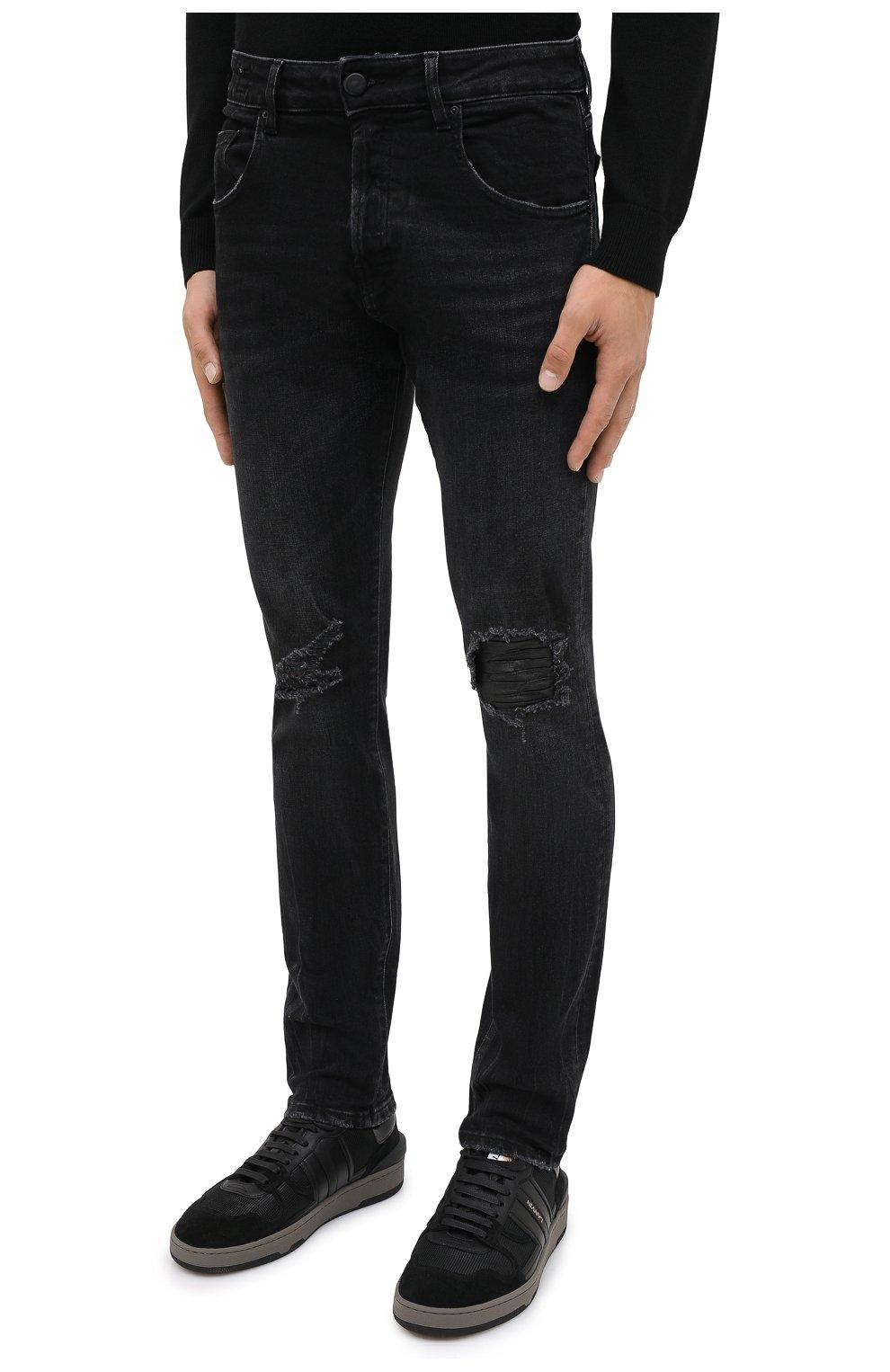 Мужские джинсы DON THE FULLER темно-серого цвета, арт. DHW0/MILAN0/DTF/PAY | Фото 3