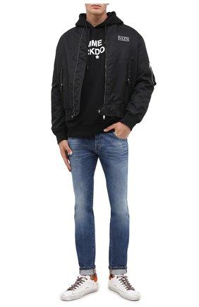 Мужские джинсы DON THE FULLER синего цвета, арт. DHW0/MILAN0/DTF/UT | Фото 2