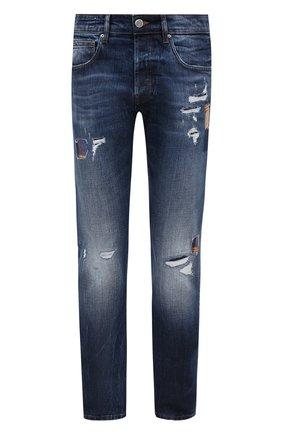 Мужские джинсы DON THE FULLER синего цвета, арт. DHW0/NEW Y0RK/DTF/45 | Фото 1