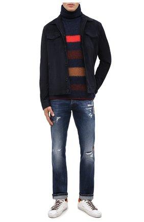 Мужские джинсы DON THE FULLER синего цвета, арт. DHW0/NEW Y0RK/DTF/45 | Фото 2