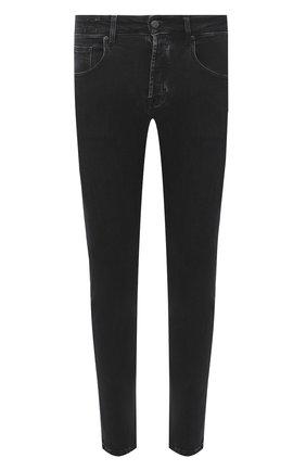 Мужские джинсы DON THE FULLER черного цвета, арт. DHW0/NEW Y0RK/DTF/PAY | Фото 1