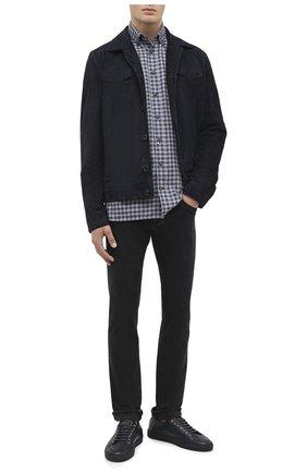Мужские джинсы DON THE FULLER черного цвета, арт. DHW0/NEW Y0RK/DTF/PAY | Фото 2
