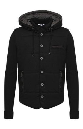 Мужская шерстяная куртка GRAN SASSO черного цвета, арт. 23191/51303   Фото 1