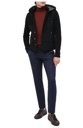 Мужская шерстяная куртка GRAN SASSO черного цвета, арт. 23191/51303   Фото 2