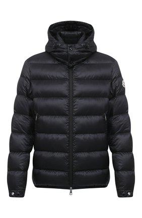 Мужская пуховая куртка verte MONCLER черного цвета, арт. F2-091-1A202-00-C0606 | Фото 1